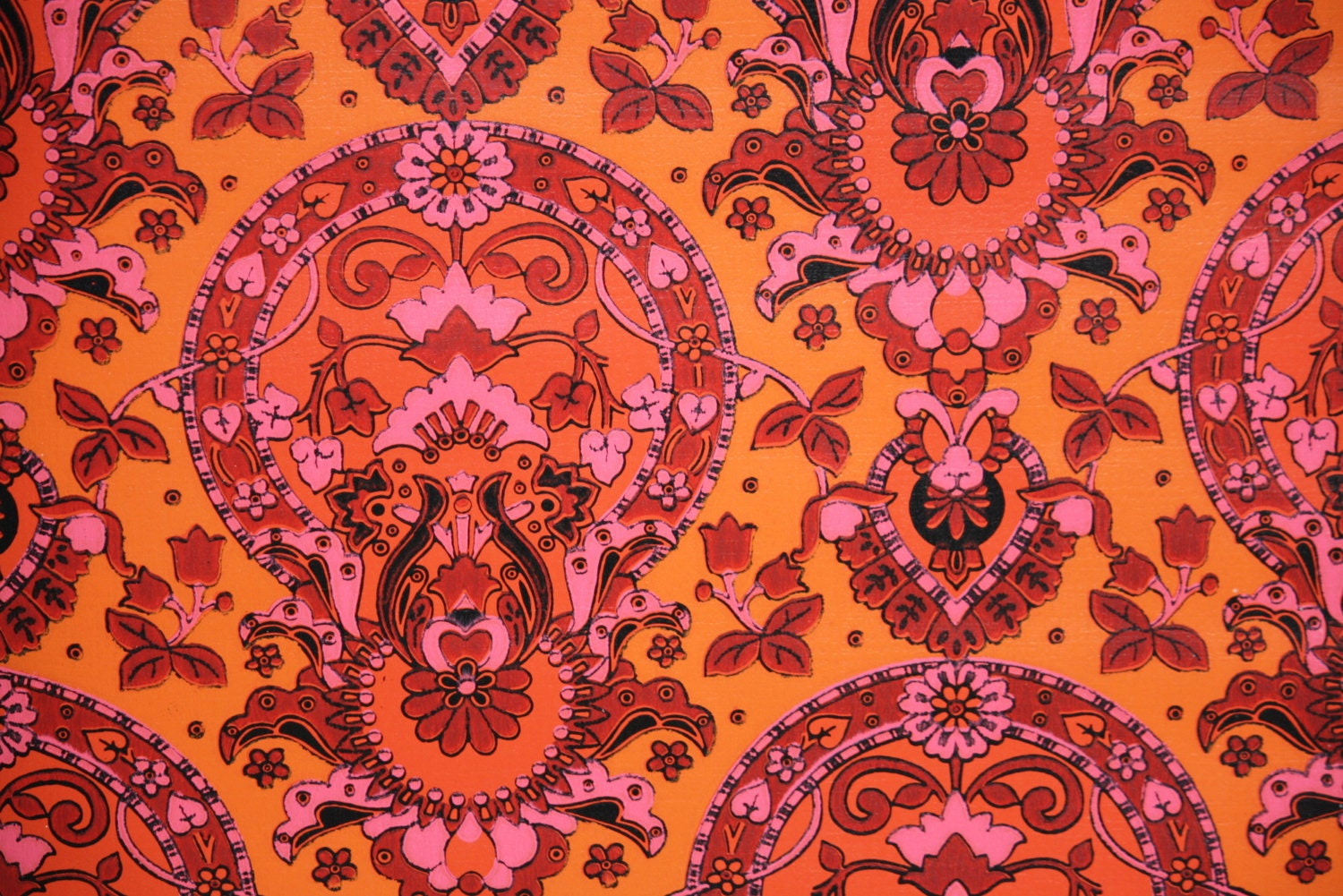 1970s vintage wallpaper retro - photo #20
