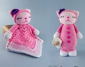 Combo Pack - Kitty Lovey and Amigurumi Set for 5.99 Dollars - PDF Crochet Pattern - Instant Download - Special Offer Pattern Pack Animal