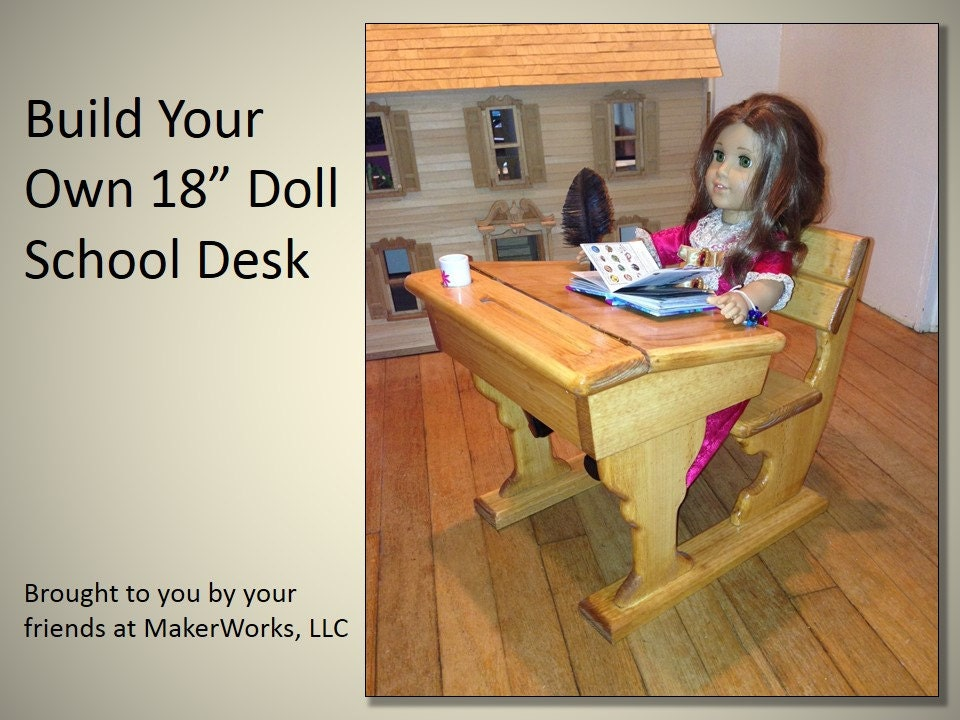 school desk woodworking plans
