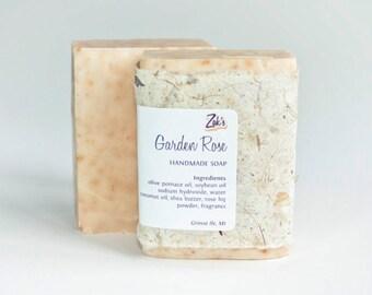 Garden Rose Handmade Soap
