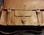 Oiled Leather Satchel : R...