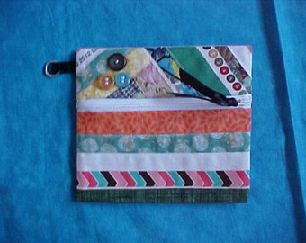 SALE Recycled wristlet. Was 7.00.