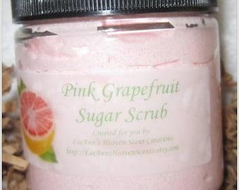 Fresh Citrus Sugar Scrubs-Pink Grapefruit, Tangerine, Lemongrass Verbena, Orange Burst...You Choose Fragrance