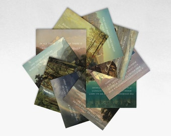 Conservation Post Cards - Set of 10 - Profits Donated to Charity