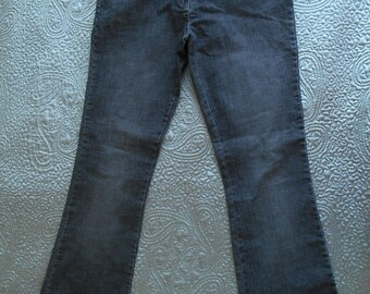 Patsy Seddon Phase Eight bootcut jeans greyish black uk 12, us 8