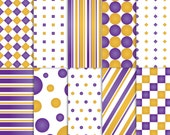 Purple and gold Scrapbook Paper, Purple Scrapbook Paper, gold Scrapbook Paper, Purple and gold paper, luxury paper, royal paper
