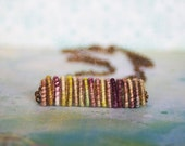 Earthy Yarn Bead Necklace - jimenasjewelry