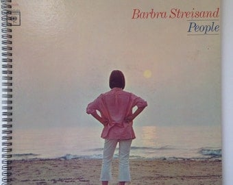 Barbara Streisand Recycled Record Album Cover Book