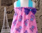 Epic Cute Sesame Street Abby Cadabby Halter Dress