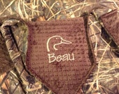 Ducks Unlimited - Baby Blanket - Realtree MAX-4 HD Camo and Minky Blanket - Duck - PERSONALIZED