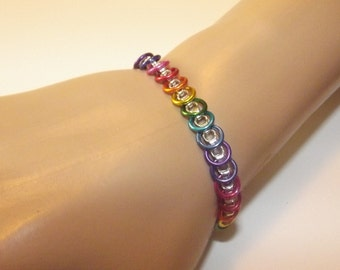 Slinky Chainmaille Bracelet