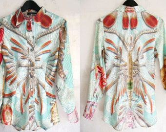 custom tailored designer pure quality silk womens blouse, euro cut made in France