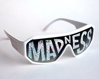 Rasslor MADNESS Shield Sunglasses