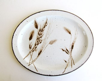 Midwinter Stonehenge Wild Oats Oval Serving Plate Platter Wedgwood