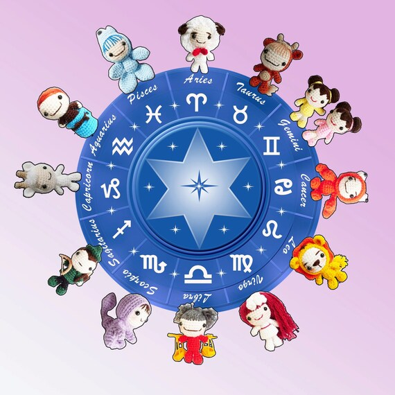 AMIGURUMI PATTERN : The Cutiest Signs of Zodiac by Ahmaymetshop