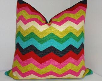 Waverly Panama Wave Desert Flower Pillow Cover Decorative Pillow Throw Pillow 16x16