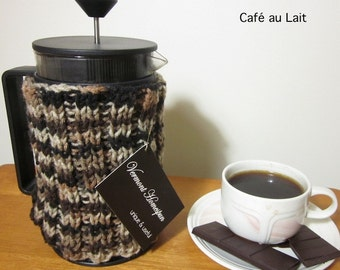 Rib-Knit French Press Cozy - Choice of Colors