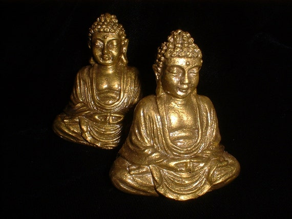 Tiny GOLDEN Pocket Buddha for Travel and Gifting