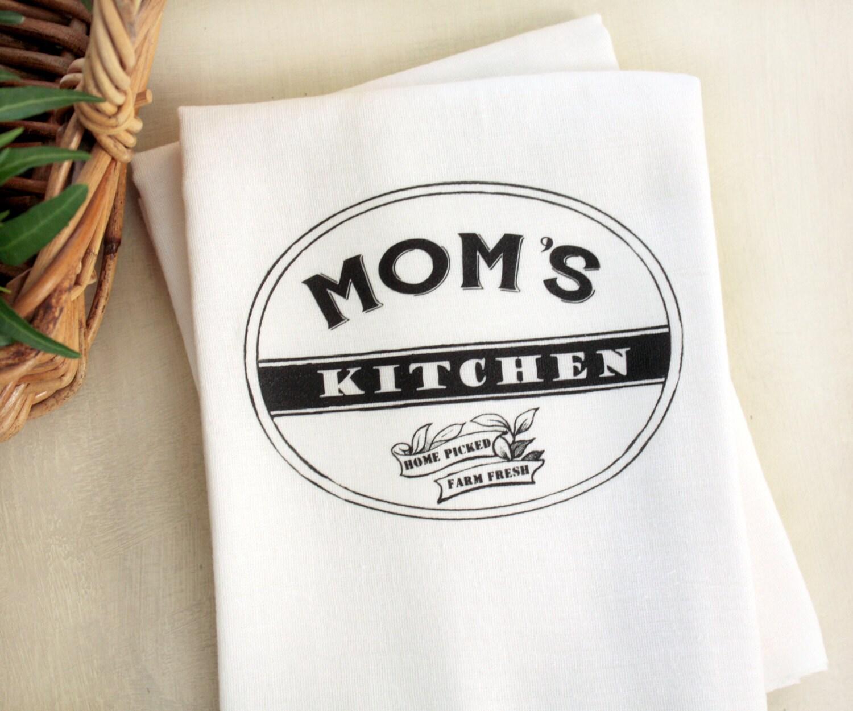 Tea Towels Unique: Personalized Tea Towel Custom Tea Towel Kitchen Flour Sack