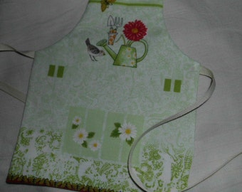 garden apron for doll American Girl 18 inch ready to ship
