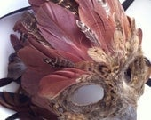 Brown Tree Owl - Specialty Custom Animal Masks