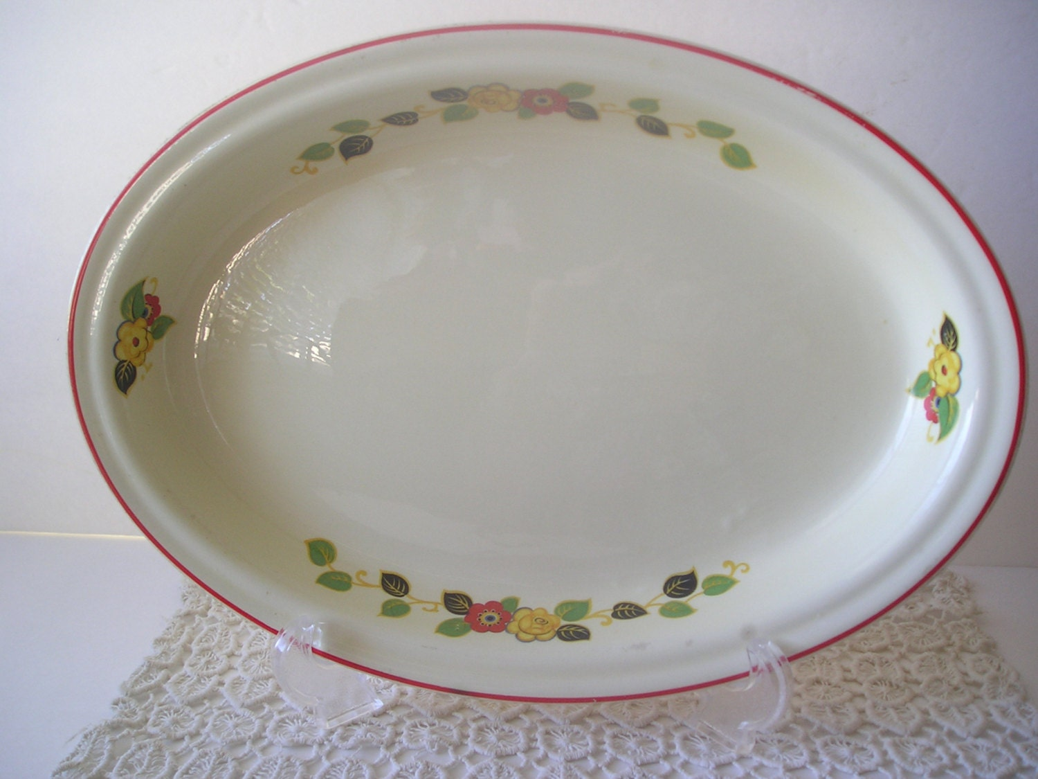 1940 S Serving Platter Haute Juice