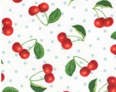 Fresh picked cherry fabric by Sentimental studios for Moda fabric