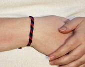 Polyamory Pride Friendship Bracelet thin