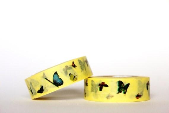 LAST ONE Flying Butterflies Washi Tape