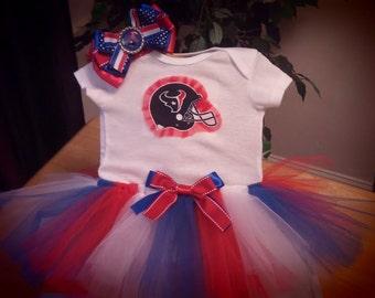 Houston Texans inspired tutu outfit