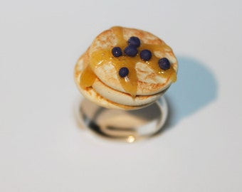 pancake ring food ring kawaii jewelry