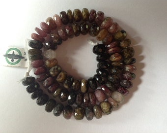 Faceted Tourmaline Strand