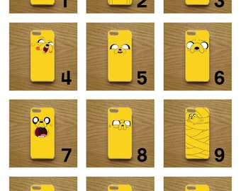 Adventure Time Jake The Dog Phone Case / Cover available for iPhones - 12 Designs