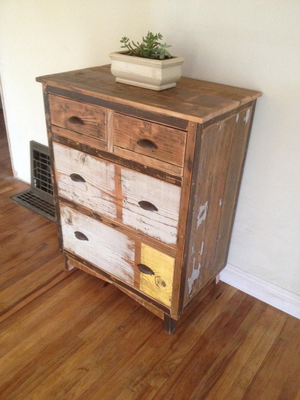 reclaimed wood chest of drawers dresser. Black Bedroom Furniture Sets. Home Design Ideas