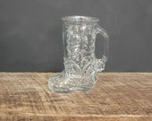 Vintage Boot Drinking Glass Libbey of Canada