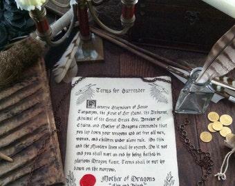Mother of Dragons Custom Document