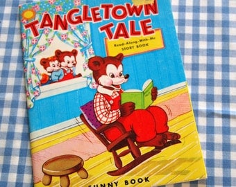 tangletown tale, vintage 1978 children's book