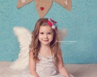 SALE! Angel Wings Beautiful, Flexible, for Wedding, Flower Girl, Costume, Pageant, Baptism, Prof Photo Prop Child/Adult FREE halo