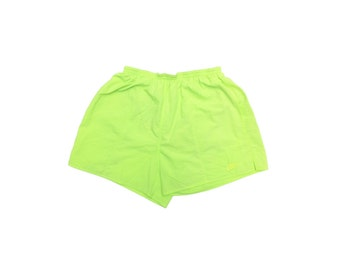 Rad 90s Highlighter Nike Swim Trunks - 26 to 34