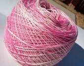 Crochet Cotton - Size 20 - Hand Dyed - Antique Rose - Your Choice of Amount