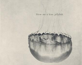 Jellyfish Art, Jellyfish Photo, Jelly Fish Photo, Jellyfish Print, Jellyfish Gift, Jelly Fish Art, Jelly Fish Print, Jellyfish Decor
