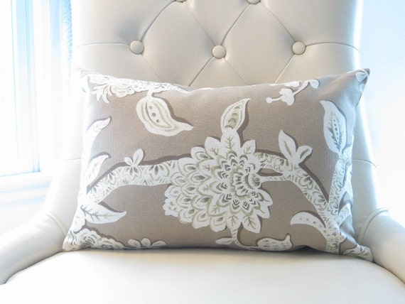floral pillow cover chair lumbar 12x18 inch decorative pillows