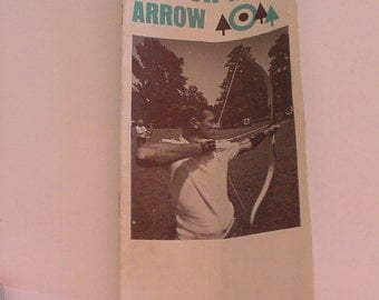 "Vtg BEN PEARSON ""How to Shoot a Bow and Arrow"" Instruction Booklet Paper Ephemera USA"