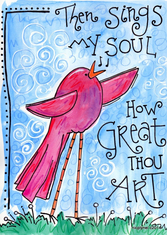 How Great Thou Art Painting