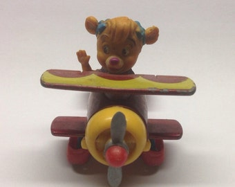 Vintage 1989 Ducktales Talespin Mini Holly Cartoons Airplane Toy