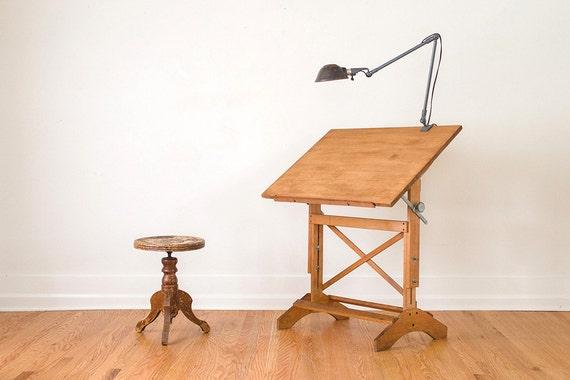 Vintage Hamilton Drafting Table Artist Easel