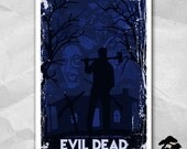Evil Dead 12 x 18 Inch Poster - Bruce Campbell - Sam Raimi - Horror Movie Poster