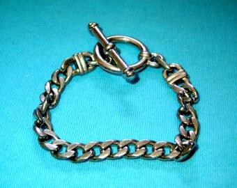 t bar bracelet ,vintage