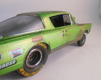 Classicwrecks, Scale Model, Rusted Car,Junker,Plymouth Barracuda