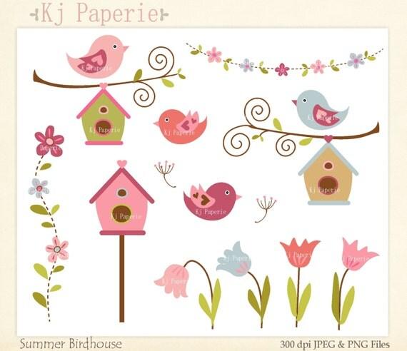 oiseaux clip art clipart fleurs scrapbooking image clipart